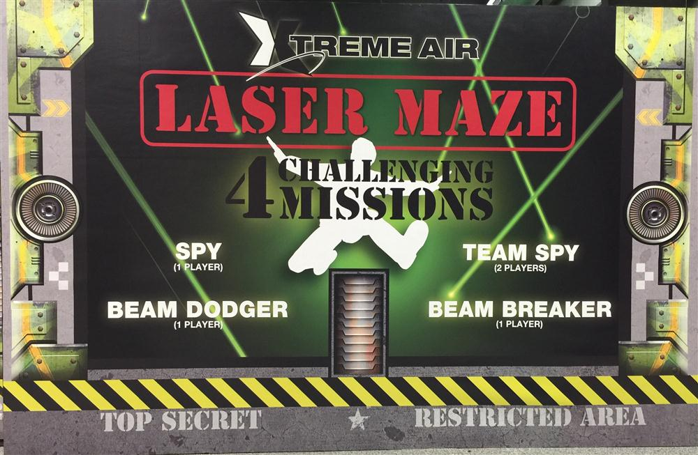 Laser Maze Concept Drawing