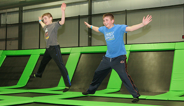 Xtreme Air Trampoline Adventure Park Appleton Wi Indoor
